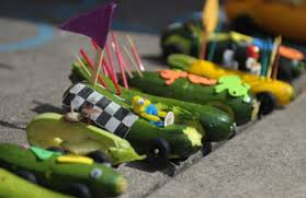 Join our second annual zucchini race! Bring your prized garden zucchini or use one of ours. Decorate with your favourite accessories and watch them go!