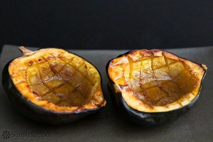 Our features veggie of the week is the acorn squash. Never tried it? Try this recipe:  INGREDIENTS 1 Acorn squash 1 Tbsp Butter 2 Tbsp Brown Sugar 2 teaspoons Maple Syrup Dash of Salt METHOD 1) Preheat your oven to 400°F (205°C). 2) Carefully cut the acorn squash in half, from stem to tip. Scrape out the seeds and stringy bits Place the squash halves cut side up in a roasting pan. Pour 1/4-inch of water over the bottom of the pan  3) Rub a 1/2 tsp of butter into the squash Crumble a tbsp of brown sugar into the center of each half and drizzle with a tsp of maple syrup. 4) Bake for about an hour to an hour 15 minutes, until the tops of the squash halves are nicely browned, and the squash flesh is very soft and cooked through.