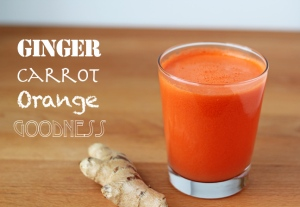 Check here for the recipe.: http://www.insonnetskitchen.com/ginger-orange-carrot-juice/
