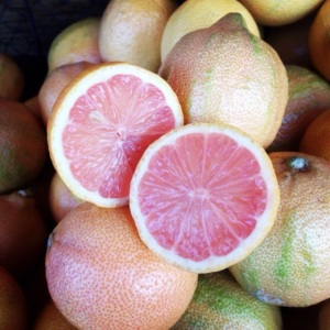 Citrus season is starting! These pink zebra lemons will be available at the market this week and are jam packed with vitamin C just in time for cold season.
