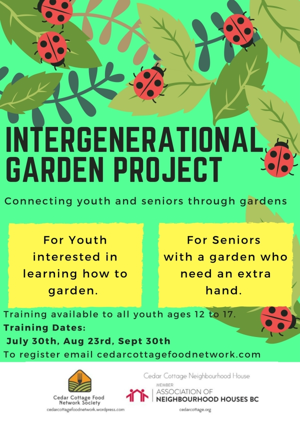 Intergenerational Garden Project