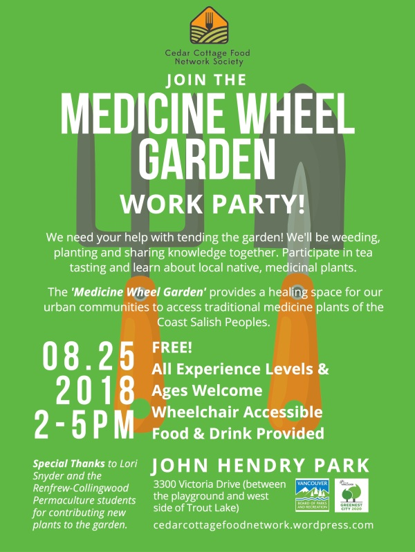 Medicine Wheel Garden work party (3)